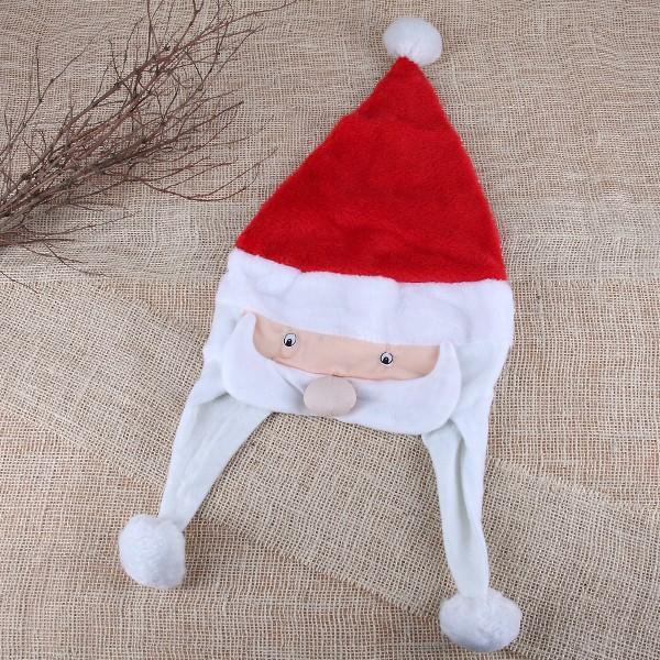 Weihnachtsmütze mit Weihnachtsmanngesicht