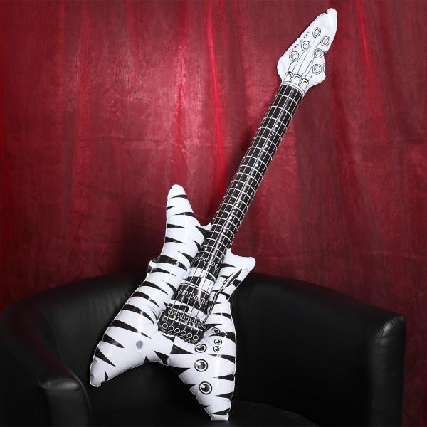 Gitarre zum Aufblasen