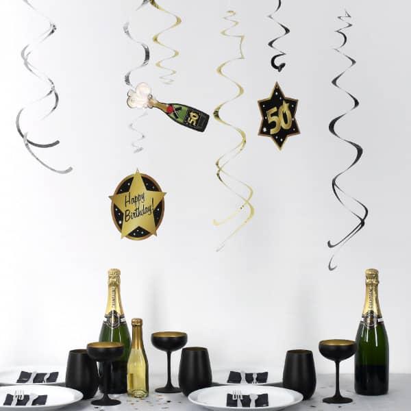 Party Dekoration Star zum 50. Geburtstag
