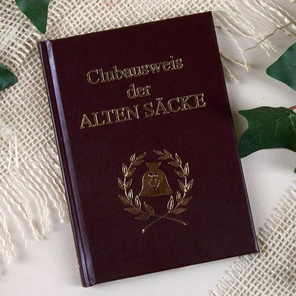 Clubausweis für alte Säcke