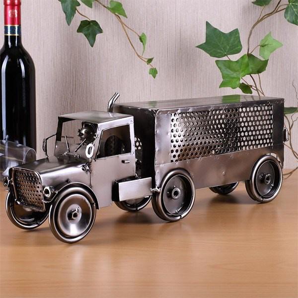 Flaschenhalter aus Metall - Truck
