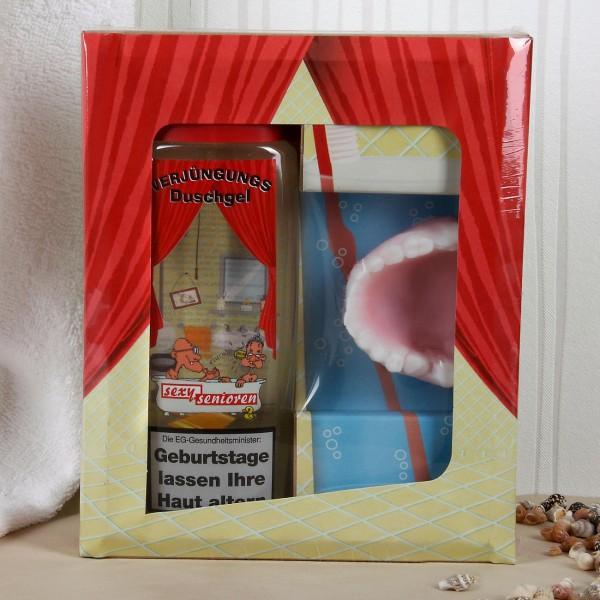 Geschenkset Verjüngungsduschgel und Seife