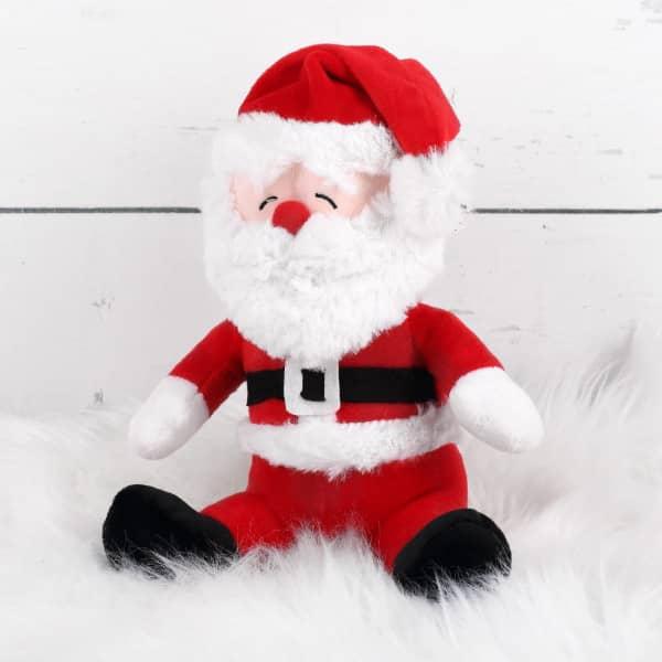 Kuscheliger Plüsch-Weihnachtsmann