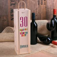 Happy Birthday - Flaschenverpackung zum Geburtstag