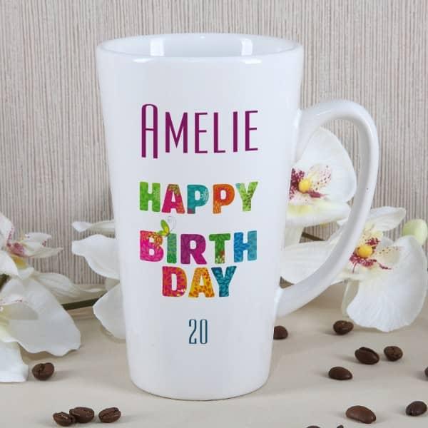 Tasse zum Geburtstag
